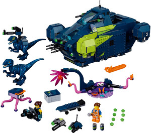 LEGO 70835 THE LEGO® MOVIE 2™ REXPLORER REXA !