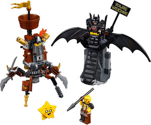 LEGO 70836 THE LEGO® MOVIE 2™ BATMAN™ I STALOWOBRODY