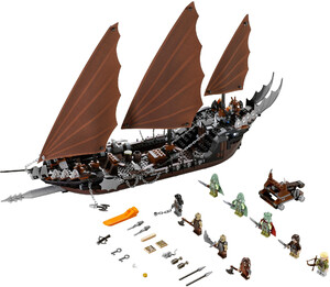 LEGO 79008 LORD OF THE RINGS ZASADZKA NA STATKU PIRACKIM
