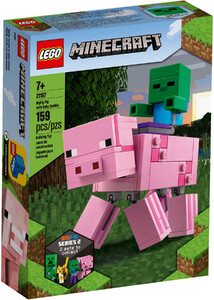 LEGO 21157 MINECRAFT BIG FIG- ŚWINKA I MAŁY ZOMBIE
