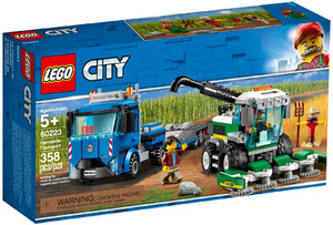 LEGO 60223 CITY TRANSPORTER KOMBAJNU