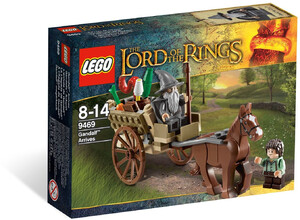 LEGO 9469 LORD OF THE RINGS PRZYBYCIE GANDALFA