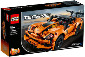 LEGO 42093 TECHNIC CHEVROLET CORVETTE ZR1 V29