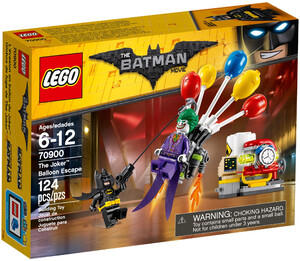 LEGO 70900 THE LEGO BATMAN MOVIE - BALONOWA UCIECZKA JOKERA