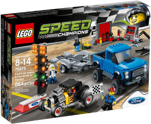 LEGO 75875 SPEED FORD F-150/FORD MODEL A