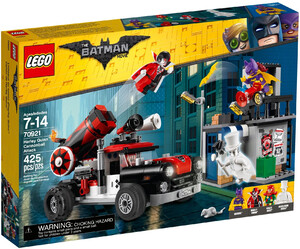 LEGO 70921 THE LEGO BATMAN MOVIE ARMATA HARLEY QUINN