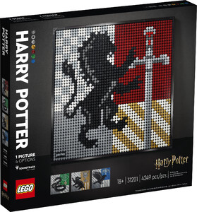 LEGO 31201 ART HARRY POTTER™ HERBY HOGWARTU™